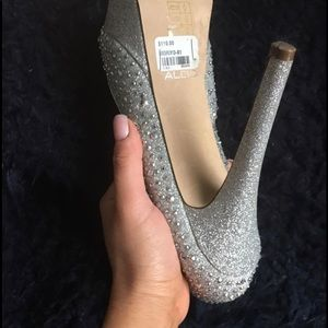 Aldo Shoes - Size 8-Glitter heels